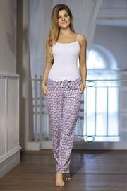 Damskie spodnie od piżamy Dots