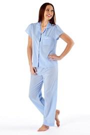 Bawełniana piżama damska Amanda Blue