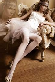 Luksusowe pończochy samonośne Amous 007