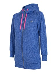 Damska bluza sportowa 4F Blue Melange