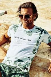 Luksusowy T-shirt męski Keith