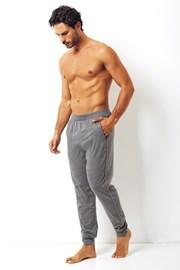 Męskie spodnie bawełniane Enrico Coveri szare