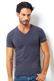 Męski włoski T-shirt Enrico Coveri 1505 Blue