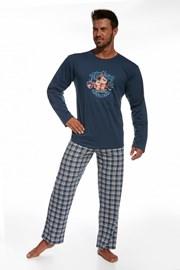 Męska piżama bawełniana Hockey