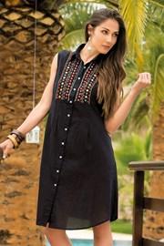 Letnia bawełniana sukienka koszulowa Vittoria z kolekcji Iconique