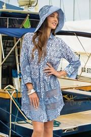 Plażowa sukienka koszulowa Tracy