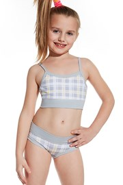 Dziewczęcy podkoszulek i majtki - set 83902