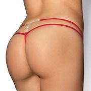 Luksusowe stringi MyBijou Red