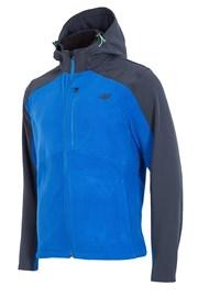 Męska bluza sportowa 4F Softshell Blue
