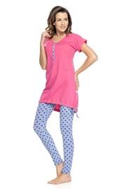 Damska piżama dla karmiących Rosy