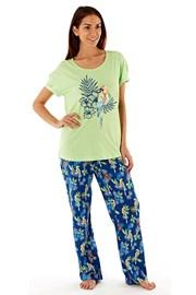 Damska piżama z bawełny Parrot