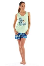 Damska piżama bawełniana Parrot krótka