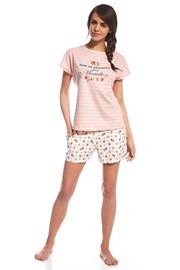 Piżama damska Provence - różowa