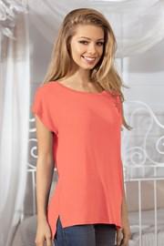 Damska bluzka z krótkimi rękawami - Rilla