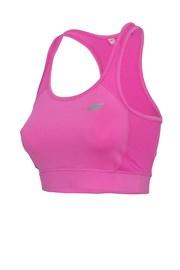 Damski nieusztywniany top sportowy Pink