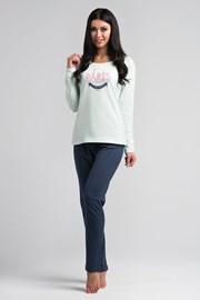 Damska bawełniana piżama Paris Mint