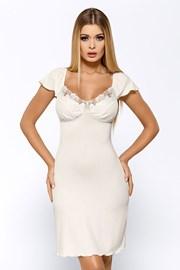 Luksusowa koszulka Salomea Ecru