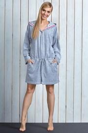 Damski szlafrok bawełniany Sue Pink