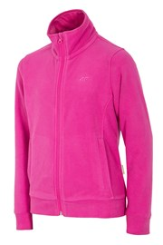 Dziewczęca bluza polarowa Pink 4F