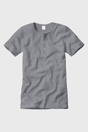 Męski T-shirt z prążkowanej dzianiny CECEBA