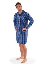 Męska koszula nocna Harvey Blue Check
