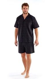 Męska piżama Harvey Black Check