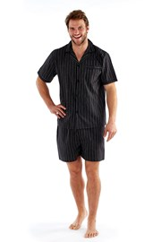 Męska piżama Harvey Black Stripe