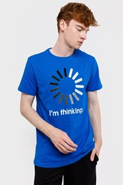 Męski T-shirt MF Blue