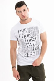T-shirt męski MF White