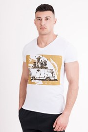 T-shirt męski MF Travel