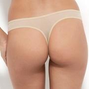 Koronkowe tanga Gossard Glossies Nude