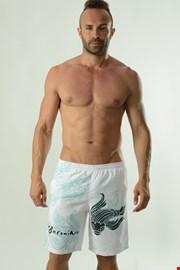 Męskie szorty kąpielowe GERONIMO Cyprinus białe