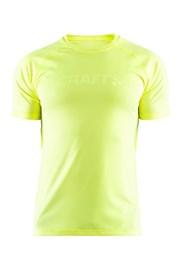 T-shirt CRAFT Run Prime neonowożółty
