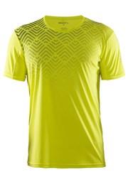 Męski T-shirt funkcyjny Craft Mind SS żółty