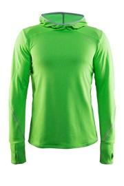 Męska funkcyjna bluza sportowa CRAFT Mind Hood zielona