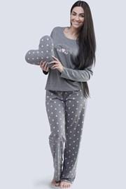 Damska piżama Meow szara