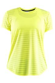 T-shirt CRAFT Run Breakaway Two neonowożółty