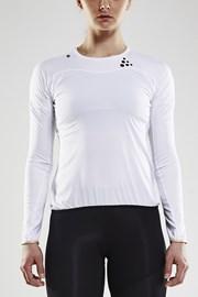 T-shirt z długimi rękawami CRAFT Run Shade biały