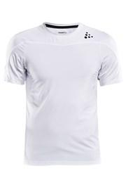 T-shirt CRAFT Run Shade biały