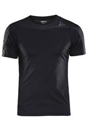 T-shirt CRAFT Run Shade czarny