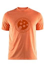 T-shirt CRAFT Melange Graphic pomarańczowy