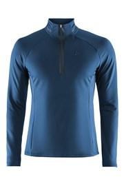 Męski sportowy półgolf termiczny CRAFT Prep Blue