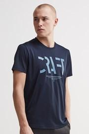 Męski T-shirt CRAFT Eaze Mesh ciemnoniebieski