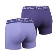 Dwupak męskich bokserek VIANIA Vman Blue Violet