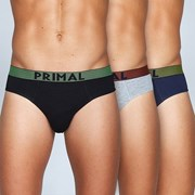 Trójpak męskich slipów PRIMAL S155