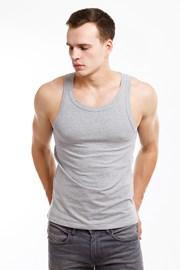 Męska podkoszulka na ramiączkach MF Grey