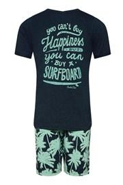 Chłopięca piżama Surfboard