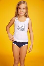 Dziewczęcy komplet: figi i koszulka Love