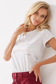 Damska bluzka bawełniana Blanca jasnoszara
