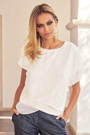 Elegancka damska bluzka Carolyn ecru